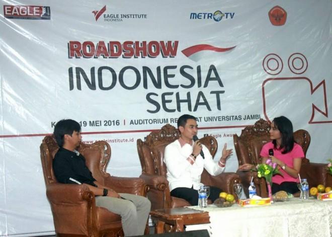 Permalink ke Gubernur Jambi Hadiri Eagle Roadshow Indonesia Sehat Di Kampus UNJA
