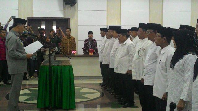 Permalink ke Walikota Fasha Kukuhkan Pengurus MUI & BP-4 Kota Jambi