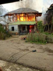 Permalink ke Akibat konsleting listrik, rumah eko ludes dilahap sijago merah