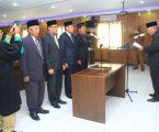 Permalink ke Lantik 4 Pejabat Baru, Ini Pesan Bupati Safrial