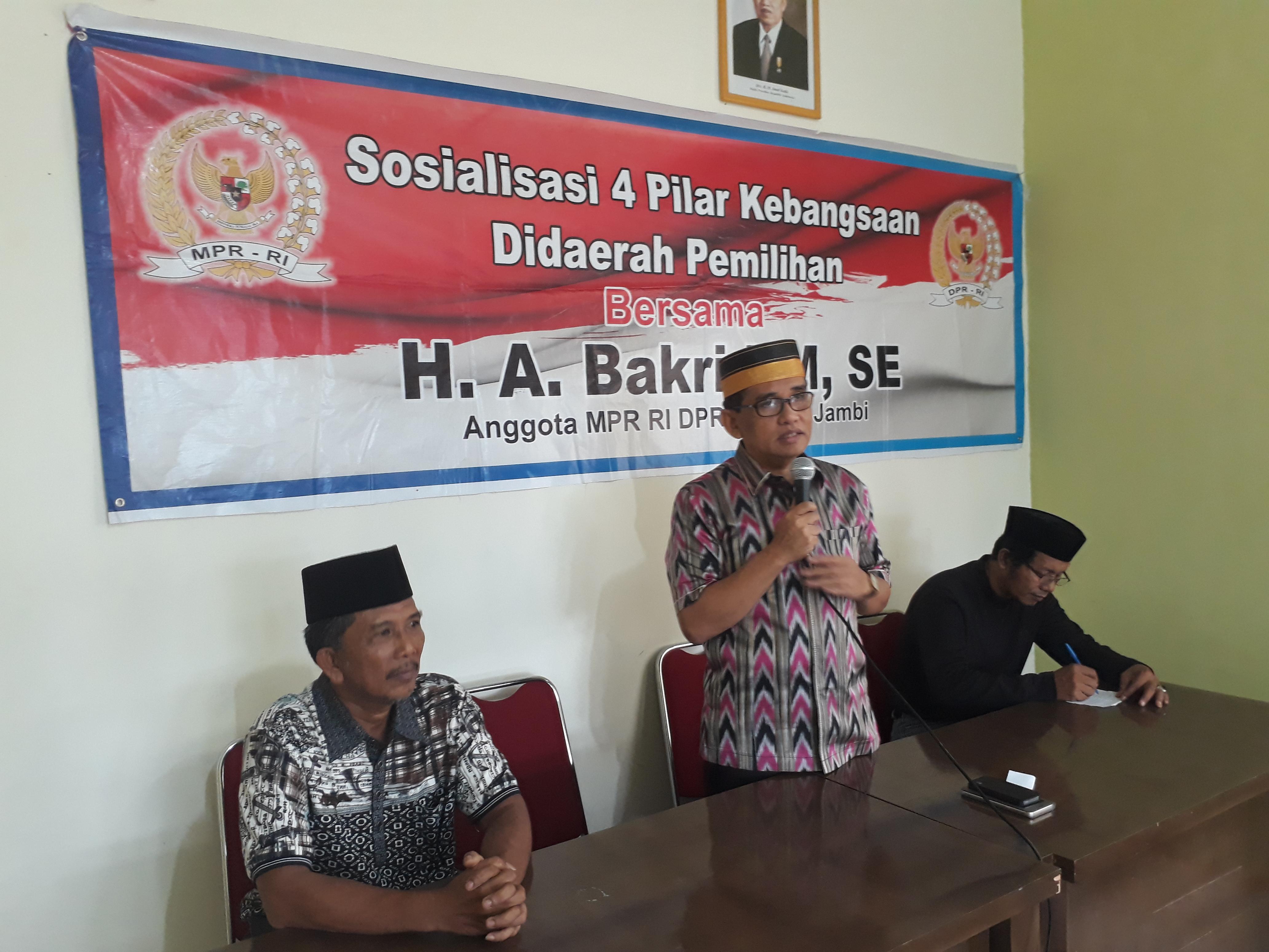 Permalink ke Sosialisasikan 4 Pilar, H. Bakri Ajak Masyarakat Memilah Informasi di Media Sosial