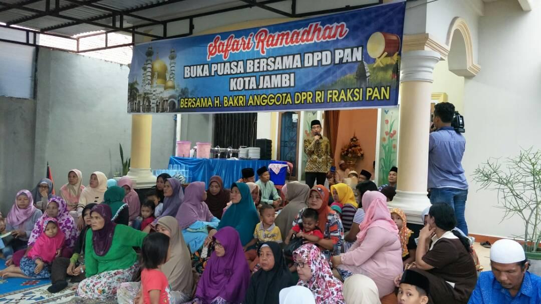 Permalink ke Roadshow ke 2 bersama DPD PAN Kota Jambi, H Bakri Sebut Laza Calon Walikota