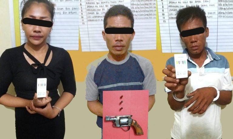 Permalink ke Gerebek Tempat Pesta Sabu, Polisi Temukan Senpi Rakitan