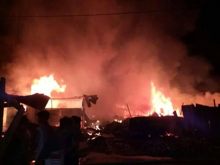 Permalink ke Ratusan Kios Pasar Baru Bangko Ludes Terbakar