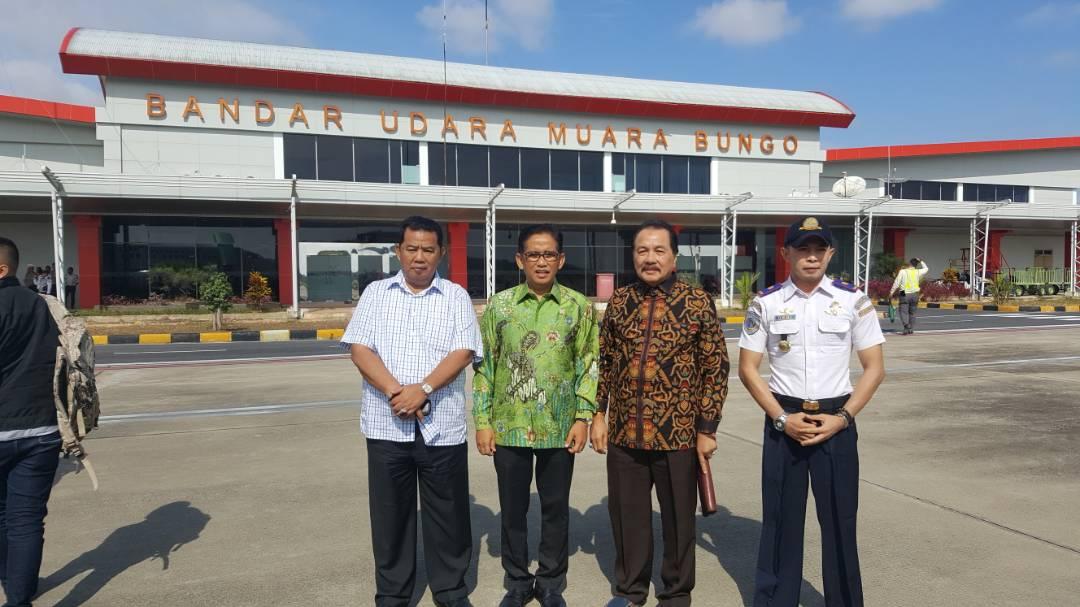 Permalink ke Pantau Mudik, H. Bakri Teringat Perjuangannya Bangun Bandara Bungo