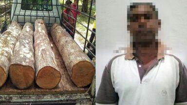 Permalink ke Warga Muaro Jambi Ini Diringkus Polisi Karna Ilegal Loging