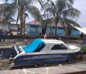 Permalink ke Unit Speed Boat Bantuan Pemerintah Pusat Untuk DKP Tanjabbar Mubazir