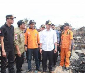 Permalink ke Gubernur Jambi dan Sekda Tanjabbar Tinjau Lokasi Kebakaran di Kuala Tungkal