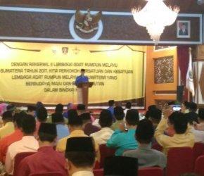 Permalink ke Rakerwil LARM se – Sumatera Dibuka Gubernur Jambi