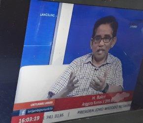 Permalink ke Live di TVRI, H. Bakri : Saya belum puas dengan dana transfer APBN untuk Jambi