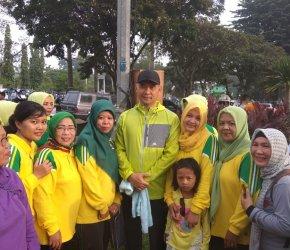 Permalink ke Peserta Jalan Santai Bersama Walikota Fasha Membludak