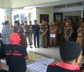 Permalink ke Gara-gara Pelantikan Pejabat, Kantor BKD Digeruduk Massa