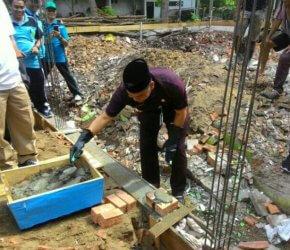 Permalink ke Walikota Fasha Letakkan Batu Pertama Pembangunan Mushola PA Kota Jambi