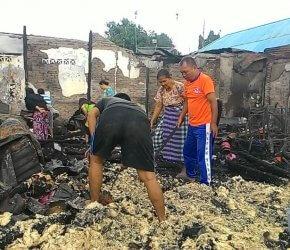 Permalink ke Delapan Rumah Warga Kota Jambi Ludes Dilalap Sijago Merah