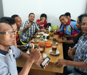 Permalink ke Denpom II Sriwijaya Copi Morning Bersama Awak Media di Warkop