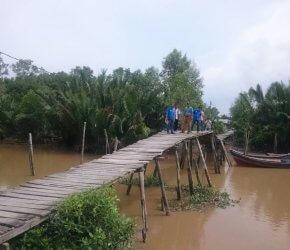 Permalink ke Jaring Aspirasi, Warga Tanjabtim Minta H. Bakri Perjuangkan Pembangunan Jembatan Kuala Langan