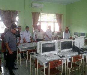 Permalink ke Komisi Empat DPRD Kota Jambi Kunker ke Sekolah, Cek Kesiapan Hadapi UNBK