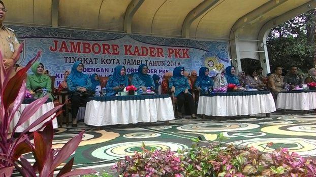 Permalink ke Hadiri Jambore Kader PKK, Ketua TP PKK Kota Jambi Minta Para Kader Lebih Kreatif