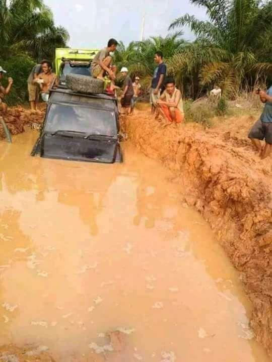 Permalink ke Infrastruktur Hancur, 9 Desa di Bahar Selatan Merana