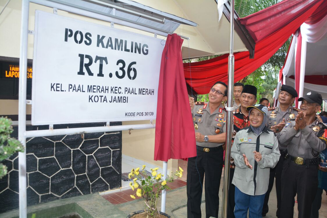 Permalink ke Kapolda Jambi Resmikan Pos Kamling RT 36
