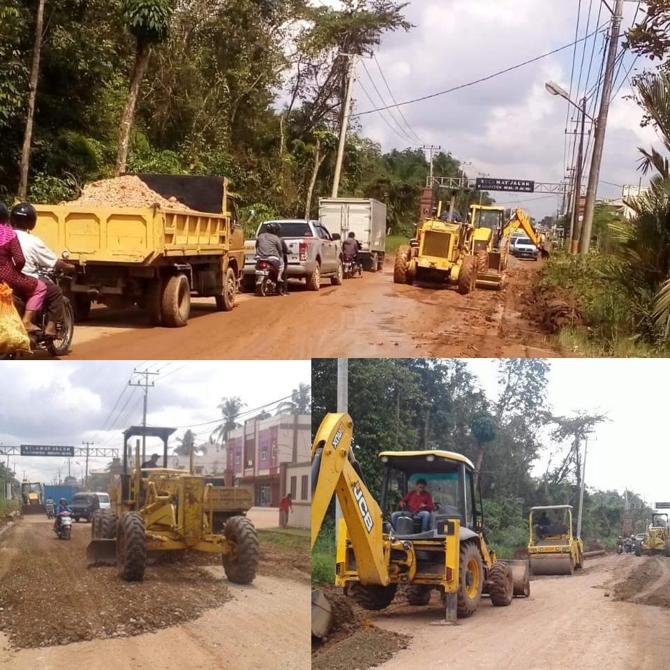 Permalink ke Dinas PUPR Prov Jambi Lakukan Penanganan Kritis Swakelola Ruas Jalan Simpang Ahok-Sungai Gelam
