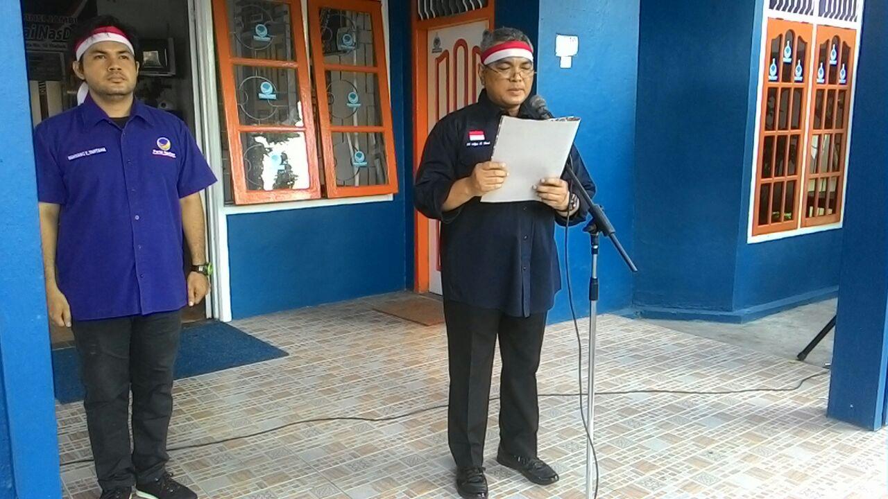 Permalink ke Tolak Aksi Terorisme, Ini Pernyataan Sikap DPW Partai Nasdem Provinsi Jambi