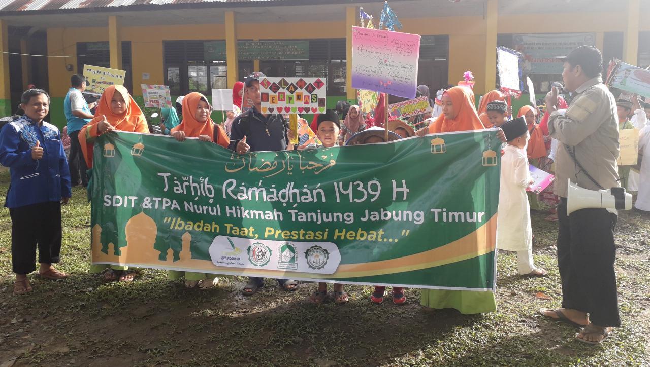 Permalink ke Gembira Sambut Ramadhan, Ratusan Siswa/Siswi Sekolah Islam dan TPA Nurul Hikmah Gelar Pawai