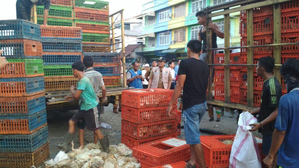 Permalink ke Sejumlah Pasar Disidak, Harga Kebutuhan Bahan Pokok Stabil