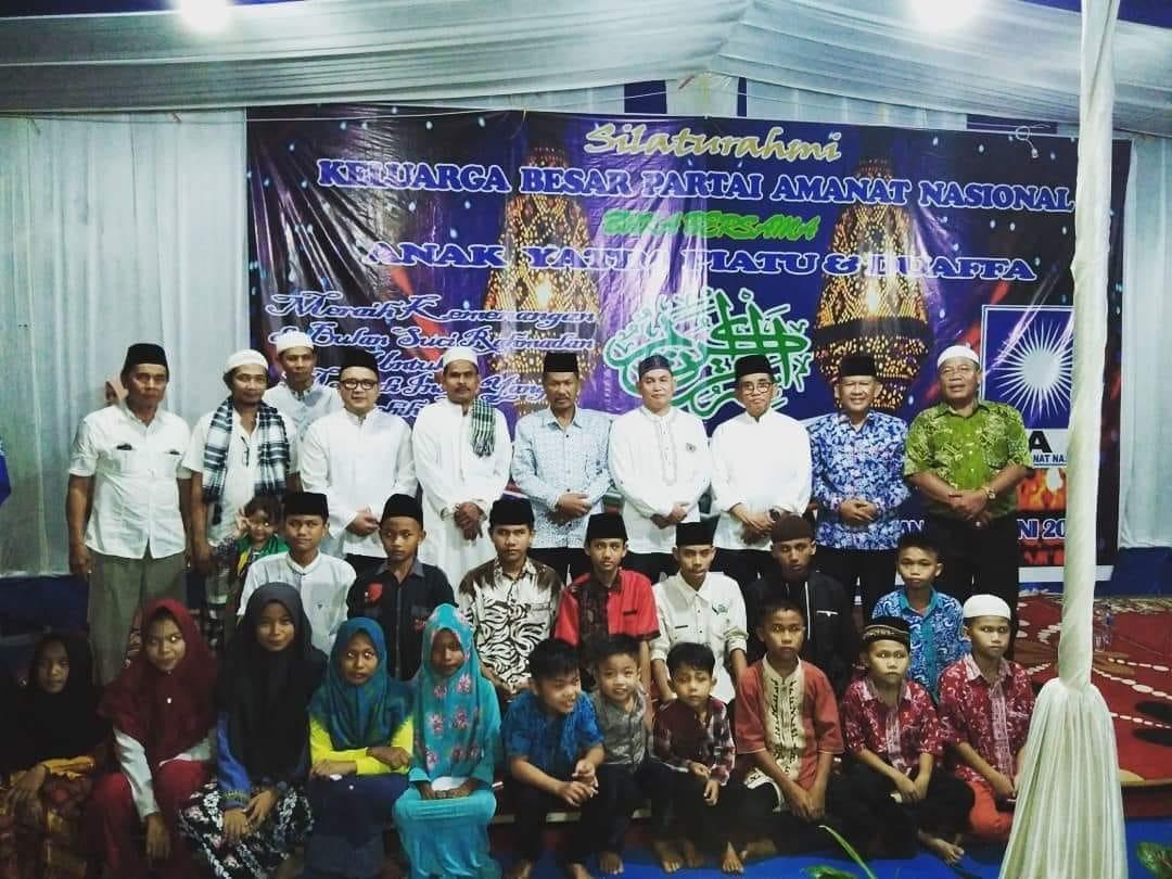 Permalink ke Konsolidasi Partai, H. Bakri Plt. Ketua DPW PAN Provinsi Jambi Safari Ramadhan ke Merangin