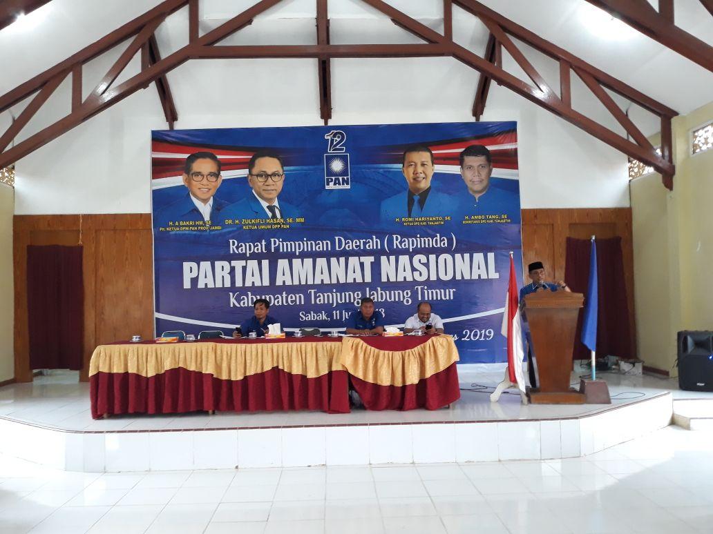 Permalink ke Hadir di Rapimda DPD PAN Tanjabtim, Bakri : Kalo yang nyaleg mau jadi anggota DPR tentunya harus bekerja keras