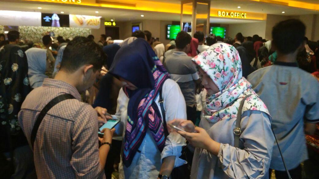 Permalink ke H+4 Lebaran, Sejumlah Mall Padat Pengunjung