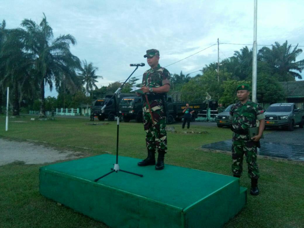 Permalink ke Danrem 042/Gapu Pimpin Apel Kesiapan Dalam Rangka Pengamanan Pilkada di Kota Jambi Kodim 0415/Batanghari
