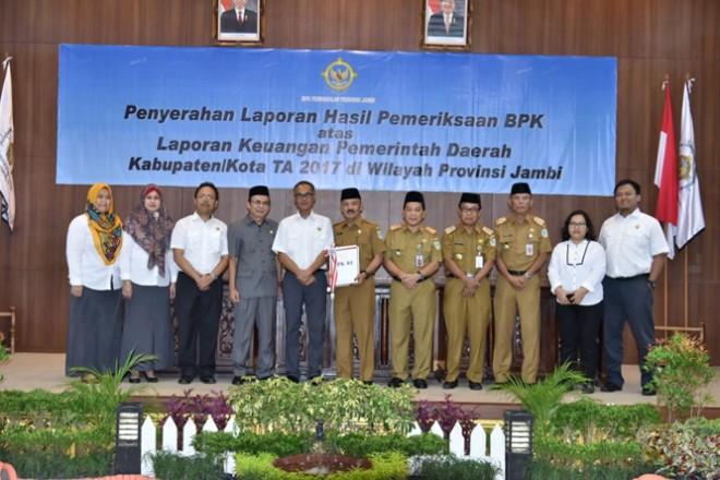 Permalink ke Wakil Ketua DPRD Kota Jambi Apresiasi Perolehan WTP Pemkot