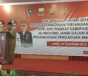Permalink ke Fachrori Buka Resmi Rakorwasda APIP-APH Tingkat Kabupaten/Kota se-Provinsi Jambi