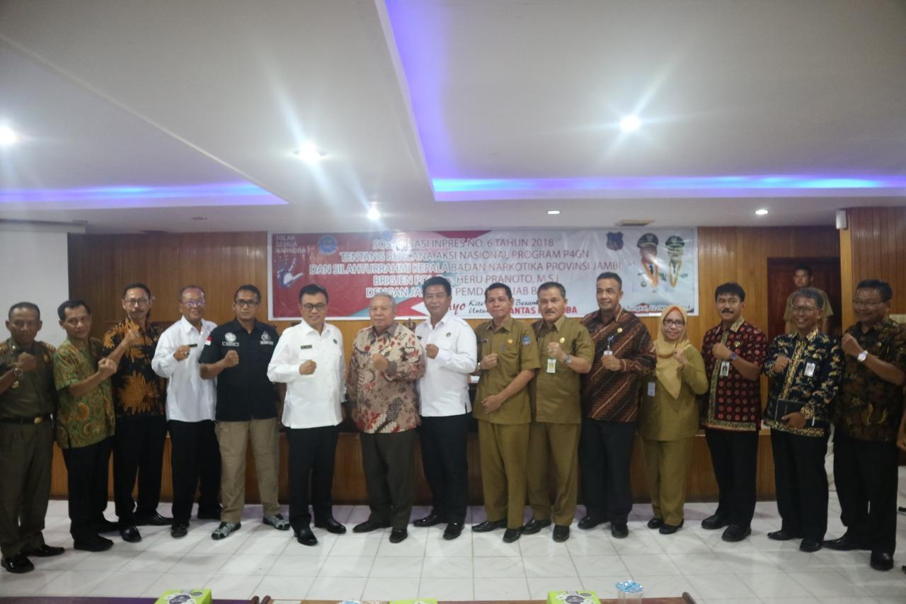 Permalink ke BNNP Jambi sosialisasikan Inpres No. 6 Tahun 2018 Tentang Rencana Aksi Sosial P4GN di Tanjabbar