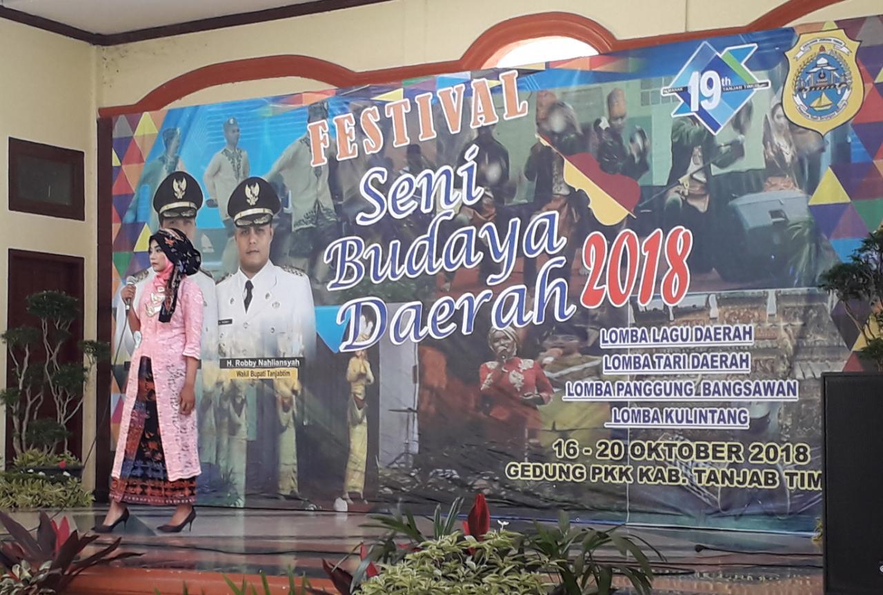 Permalink ke Disbudparpora Tanjabtim Gelar Festival Seni Budaya Daerah