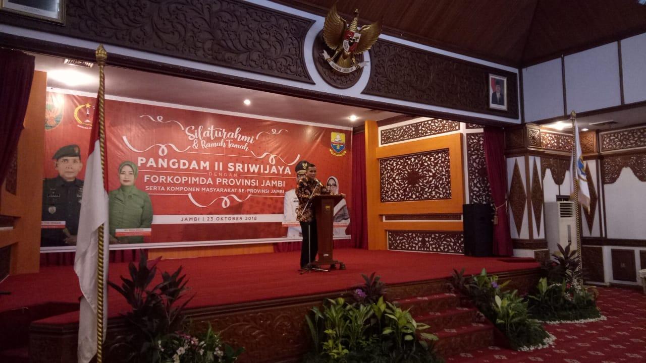Permalink ke Dimata Pangdam II Sriwijaya Kondisi di Provinsi Jambi Aman dan Kondusif
