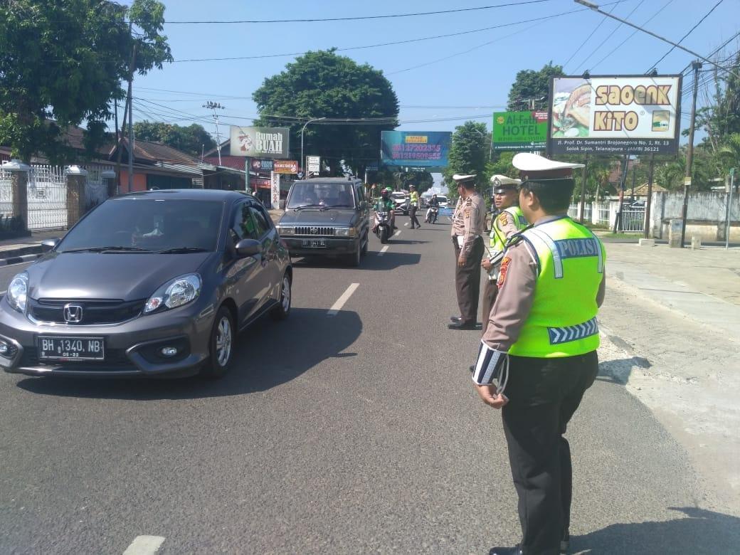Permalink ke Satlantas Polresta Jambi Kembali Gelar Razia, 43 Kendaraan Ditilang