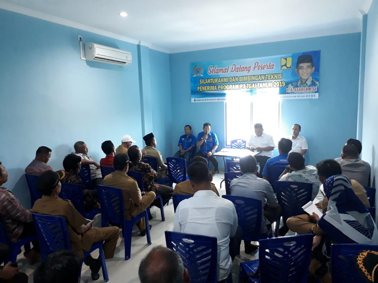 Permalink ke Reses ke Dapil Jambi, H. Bakri Kumpulkan Kades Desa Penerima P3-TGAI dari Dua Kabupaten