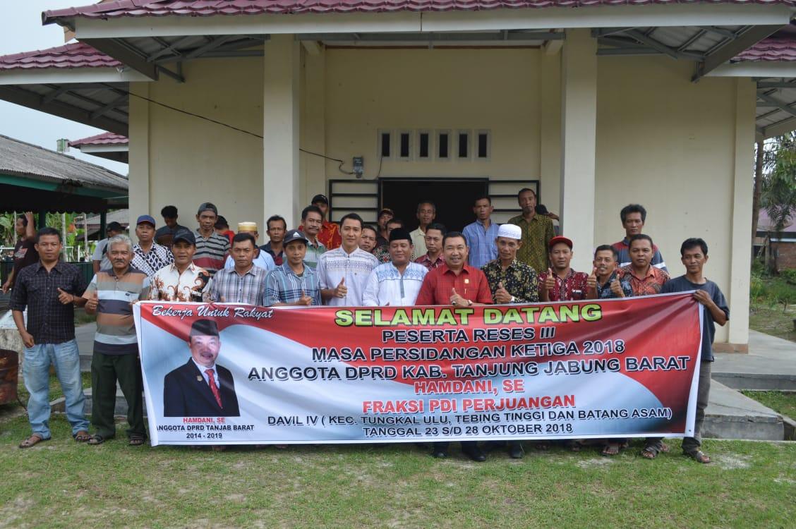 Permalink ke Sejumlah Angggota DPRD Tanjung Jabung Barat Lakukan Reses Masa Sidang III ke Dapil Jaring Aspirasi Masyarakat