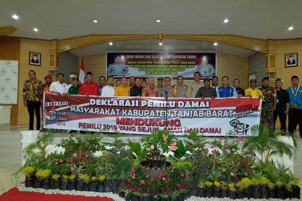 Permalink ke Kapolda Jambi Silaturahmi dengan Forkopimda, Penyelenggara Pemilu, Serta Para Toloh Kabupaten Tanjab Barat