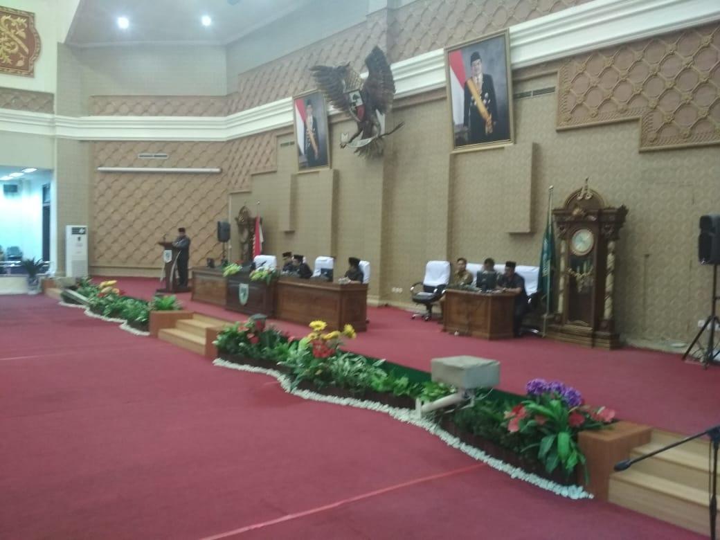 Permalink ke DPRD Kota Jambi Gelar Paripurna Penyampaian Nota Pengantar RAPBD Kota Jambi TA 2019