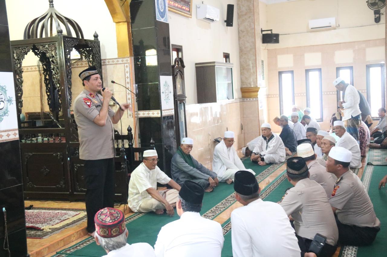 Permalink ke Ini Pesan Wakapolda Jambi Saat Jumling di Masjid Nurul Hikmah