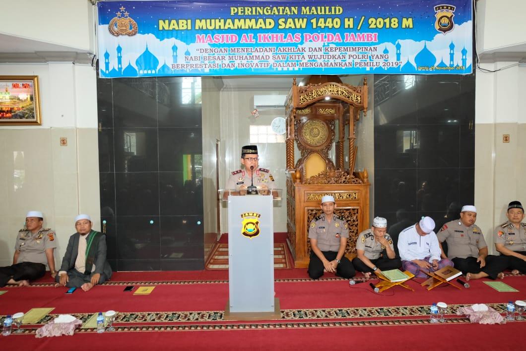 Permalink ke Peringatan Maulid Nabi, Kapolda Ajak Personil Untuk Meneladani Perilaku Rasulullah
