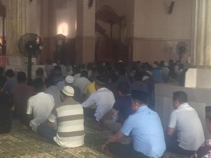 Permalink ke Usai Sholat  di Mesjid Agung Nur-Addarojat, ASN Tanjabtim Baca Tahlil Untuk ZN