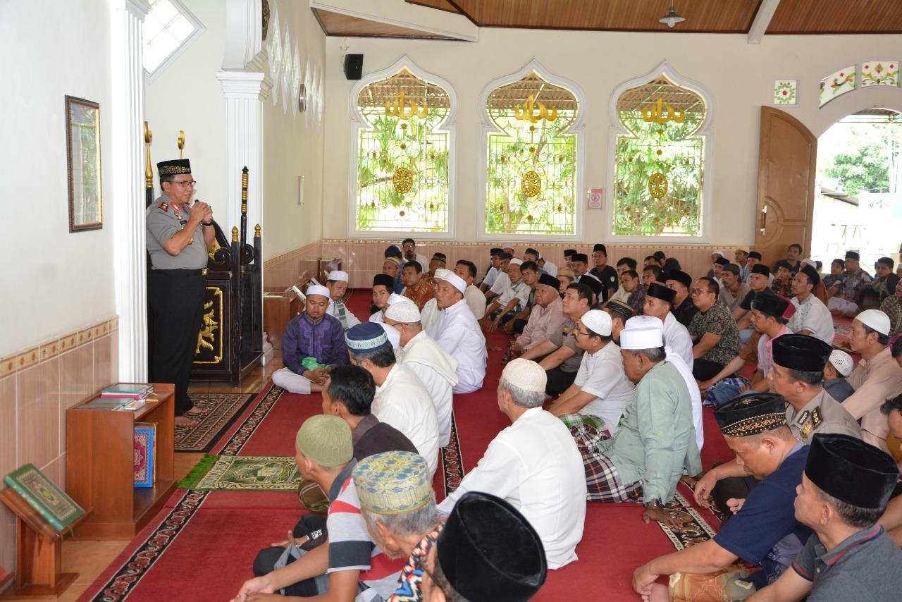 Permalink ke Jumling Masjid Al Maghfiroh Kecamatamn Pematang Sulur, Ini Pesan-pesan Kapolda