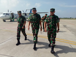 Permalink ke Danrem 042/Gapu Sambut Kedatangan Pangdam II/Sriwijaya ke Jambi