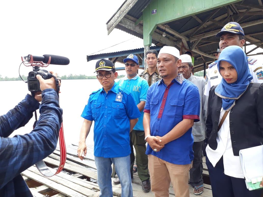 Permalink ke H. Bakri Serap Aspirasi Warga Wilayah Pesisir, Penambahan Halte Sungai Mendominasi