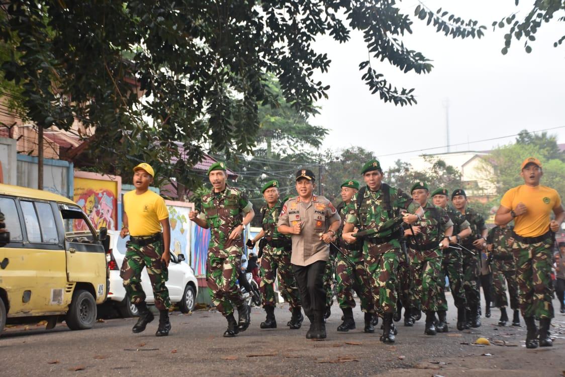 Permalink ke Kapolda Jambi dan Pangdam II/Sriwijaya Membuka Start Jalan Bersama Dalam Rangka HUT Infanteri ke-70
