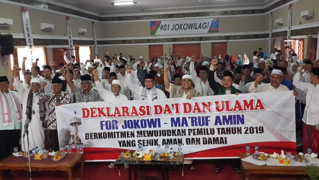 Permalink ke 500 Orang Ulama dan Da'i Pendukung Jokowi-Ma'aruf Deklarasikan Pemilu 2019 Aman, Damai dan Sejuk
